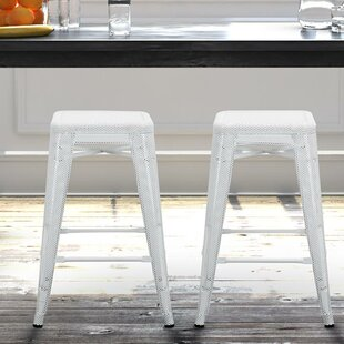 Strickland 24 Bar Stool (Set of 2) by Wrought Studio