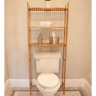 Best Price 25.98 W x 64.96 H Over-the-Toilet Storage ByBEST LIVING INC