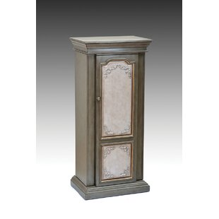Riker Free standing Jewelry Armoire with Mirror