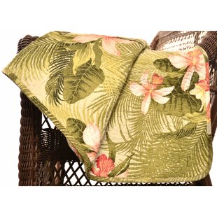 Tommy Bahama Tropical Orchid Cotton Throw