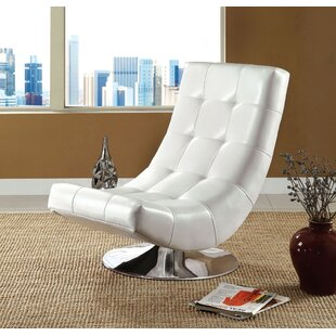 Wrought Studio Mahle Swivel Lounge Chair