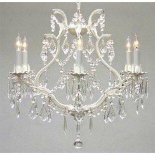 Astoria Grand Alvarado 6-Light White Cand..