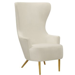 Julia Cream Velvet Chair