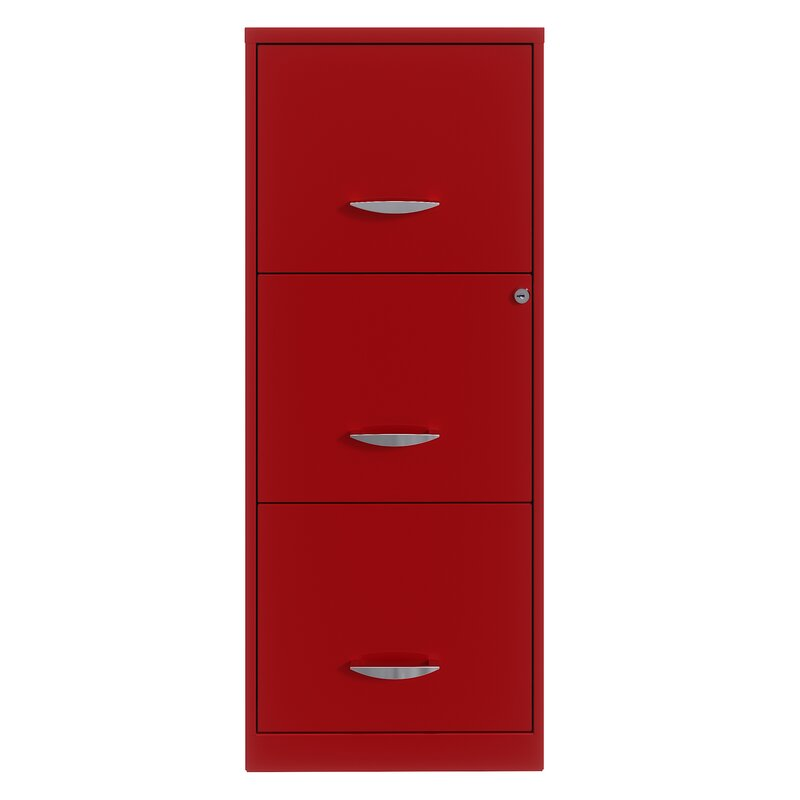 Latitude Run® Tyndale Space Solutions 3 Drawer Vertical Filing