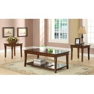 Canora Grey Renae 3 Piece Coffee Table Set
