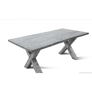 Alverson Solid Wood Dining Table by Foundry Select Wonderful