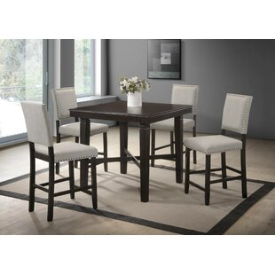 Linco 5 Piece Counter Height Dining Set