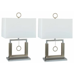 Affordable Price Pendulum 23 Table Lamp (Set of 2) By Orren Ellis