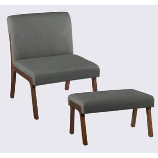 Holly & Martin Plexus Side Chair And Ottoman