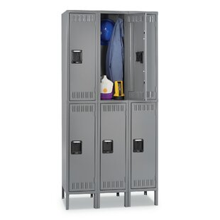 Double Tier Locker Storage Cabinet