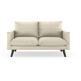 Couture Mod Velvet Loveseat by Corrigan S..