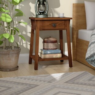 Best Reviews El Cerrito Mission Style 1 Drawer Nightstand By Loon Peak