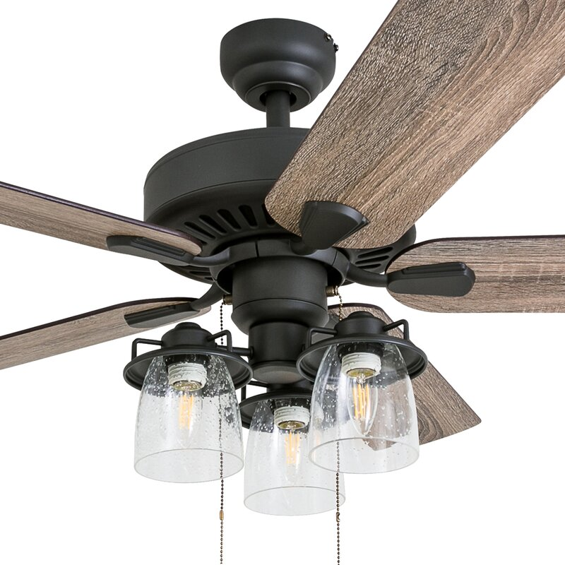 Union rustic 52 pankey 5 blade led ceiling fan reviews wayfair 52 pankey 5 blade led ceiling fan aloadofball Image collections