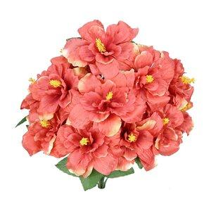 Artificial Blooming Hibiscus Flowers Bush