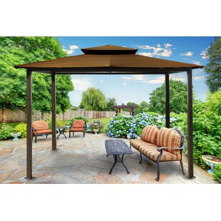 Paragon-Outdoor Barcelona 10 Ft. W x 12 Ft. D Aluminum Patio Gazebo