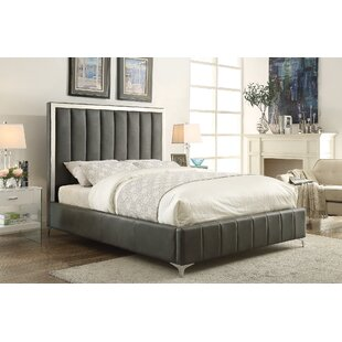 Mercer41 Molly Upholstered Panel Bed