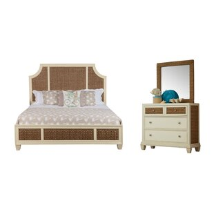 Bridge Hampton Seagrass Panel Configurable Bedroom Set