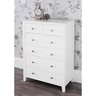 Huenna 6 Drawer Chest Of Drawers By Wrought Studio