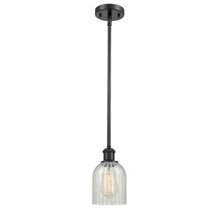Gracie Oaks Odele 1-Light Bell Pendant