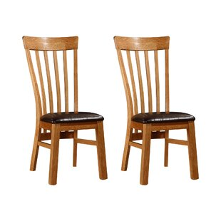 Parryville Solid Wood Dining Chair (Set Of 2)
