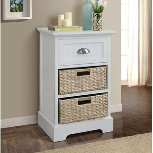 Grace 3 Drawer Nightstand