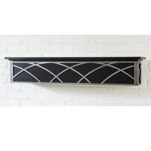Hansel Fireplace Shelf Mantel By Ornamental Designs