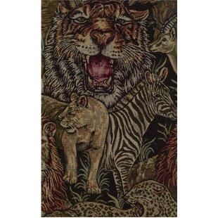 Tapestry Safari Futon Slipcover Set By World Menagerie