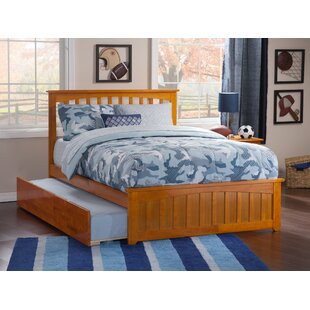 Online Reviews Amethy Full Platform Bed with Trundle by Grovelane Teen Reviews (2019) & Buyer's Guide