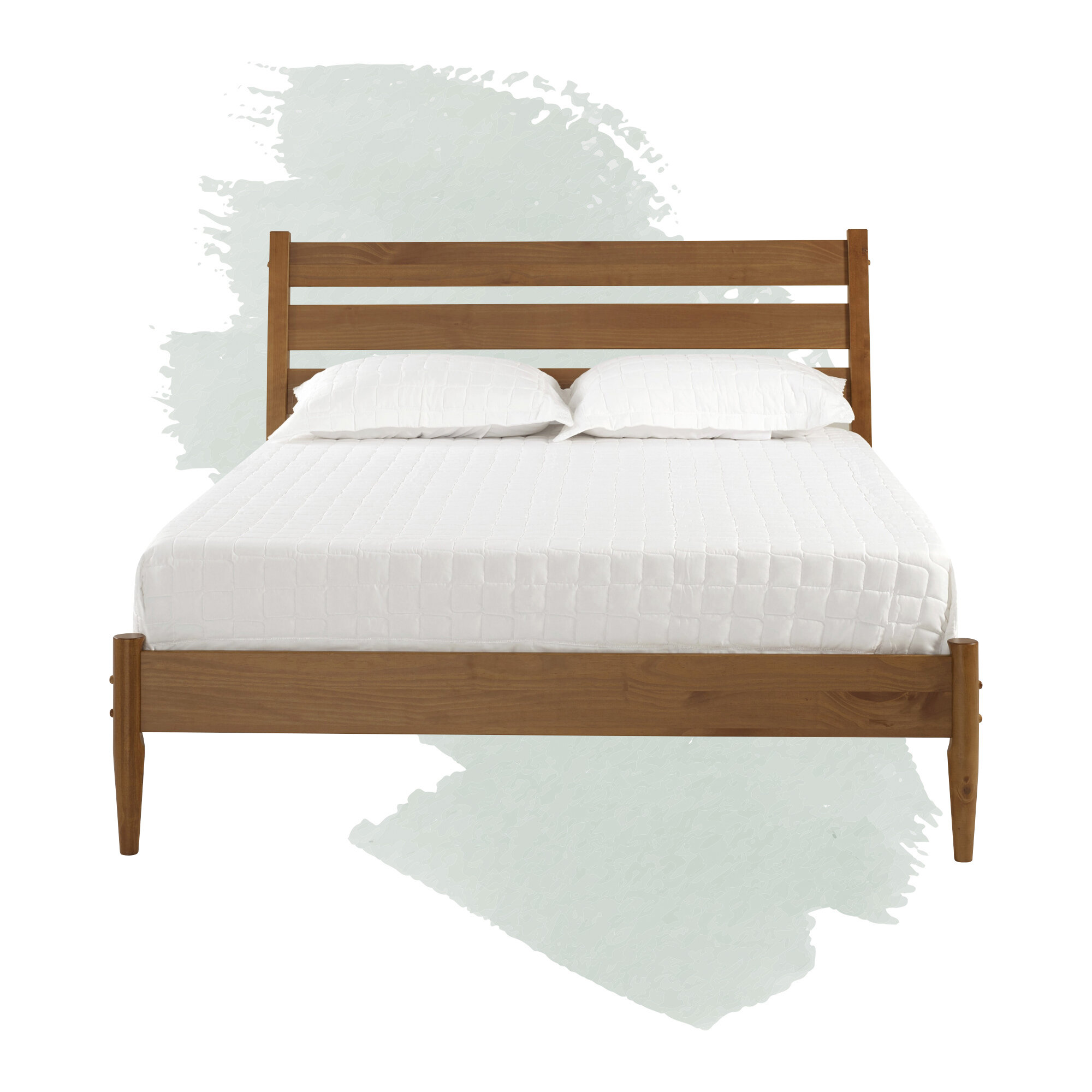 Foundstone Grady Queen Solid Wood Platform Bed Reviews Wayfair