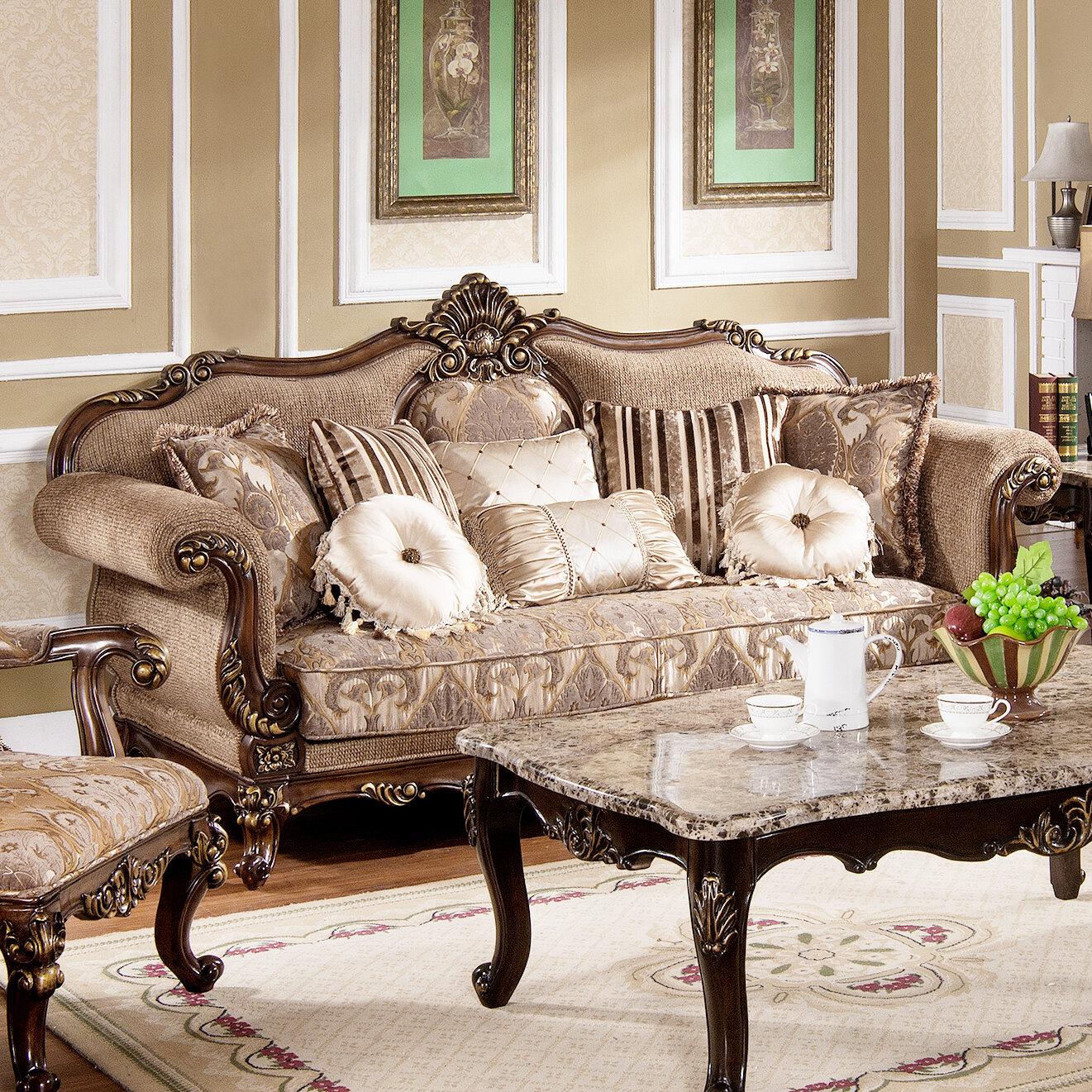 Tressa Traditional Living Room Sofa