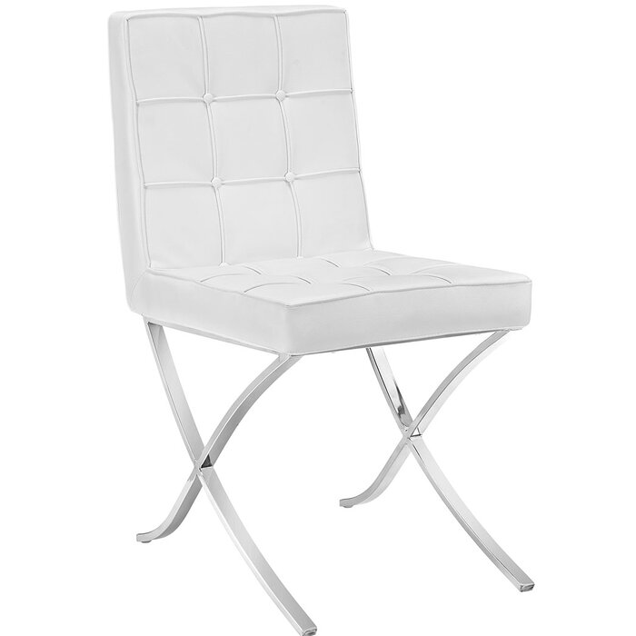 Fantastic Trieste Memory Foam Side Chair Gmtry Best Dining Table And Chair Ideas Images Gmtryco