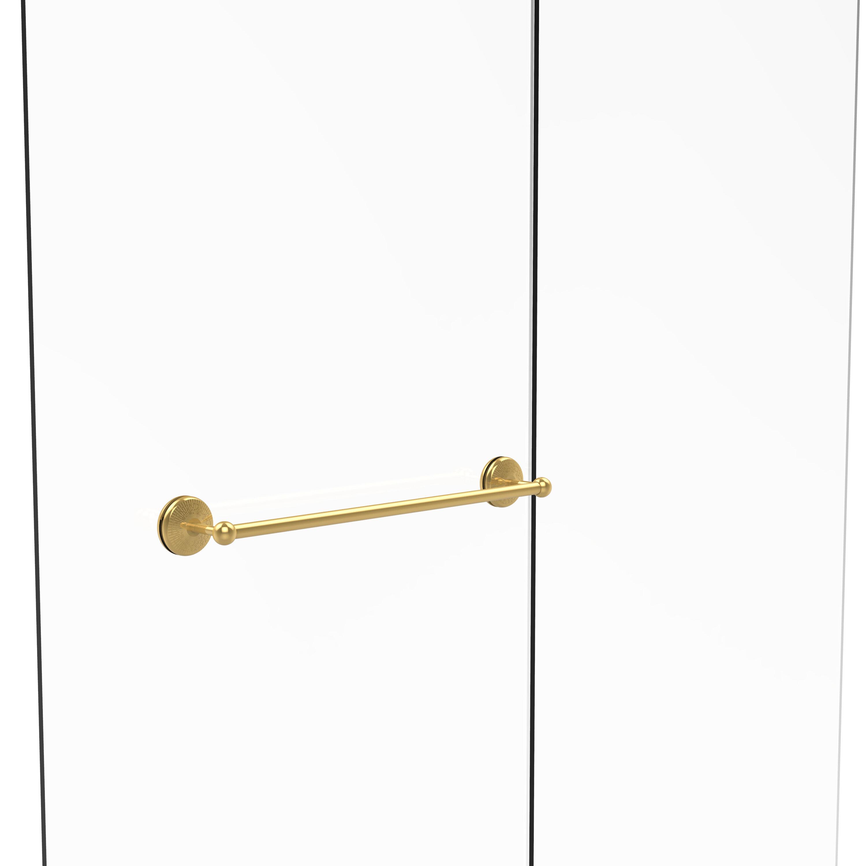 Charlton Home Tilney Shower Door Wall Mounted Towel Bar Wayfair