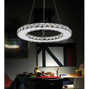 Orren Ellis Bacon 15-Light Crystal Chandelier