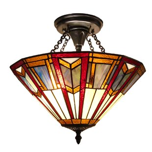 Hackmore 2-Light Semi-Flush Mount by Astoria Grand