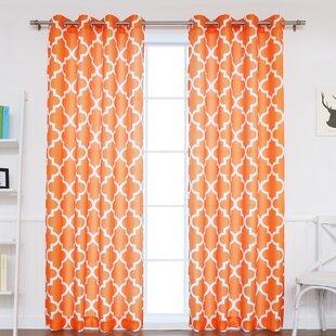 Moroccan Orange Curtains