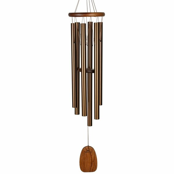 Great World Wooden Religious Cross Wind Chime