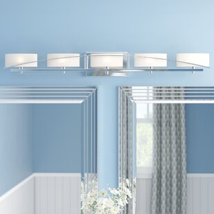 Latitude Run Newry 5-Light Vanity Light