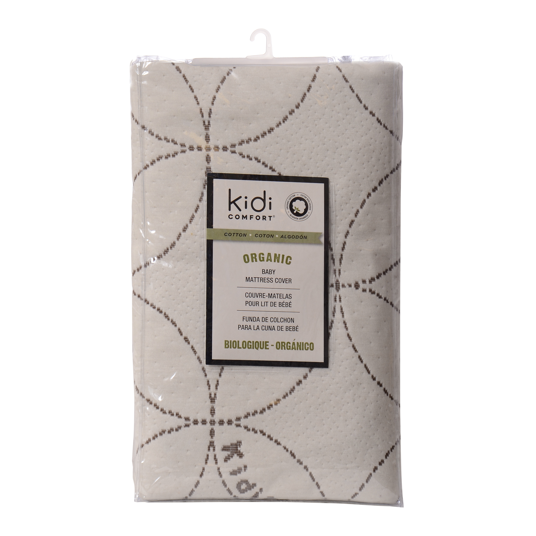 Kidicomfort Baby Blended Organic Cotton Breathable Crib Mattress Pad