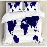 World Map Comforter Set | Wayfair