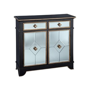 Glenys Decorated 2 Door Accent Cabinet by Breakwater Bay
