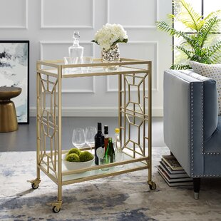 Jaxen Serving Bar Cart