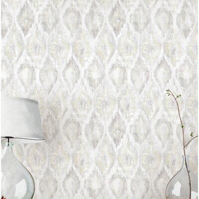Geometric White Wallpaper You Ll Love In 2020 Wayfair