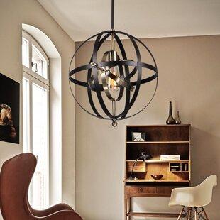 Minnick 1-Light Pendant by Gracie Oaks
