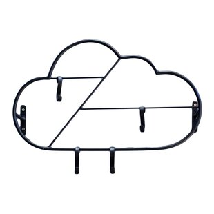 Cloud Wall Mounted Coat Rack By Art For Kids