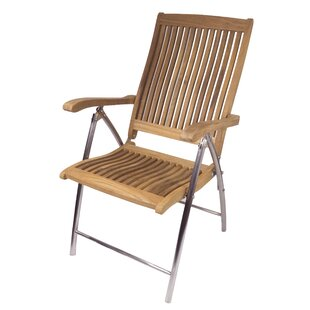 SeaTeak Windrift Folding 6-Position Reclining Deck Chair