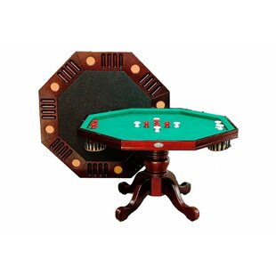 Octagon Bumper Pool Table with Accessories by Berner Billiards