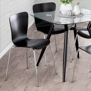 Vicente Bentwood Dining Chair (Set of 4)
