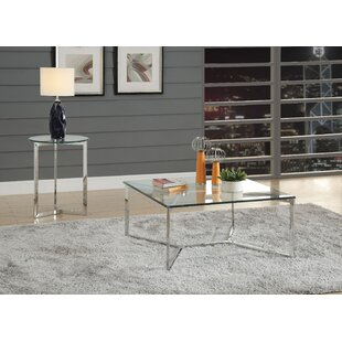 Wimbley 2 Piece Coffee Table Set Latitude Run