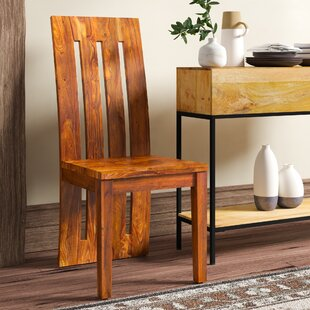 Avelar Solid Wood Dining Chair (Set of 2)