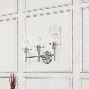 Edelson 3-Light Vanity Light By Brayden Studio